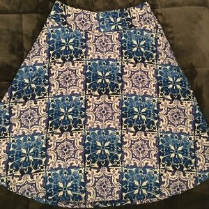 Women's The Limited Fit and Flare Skirt Size 2